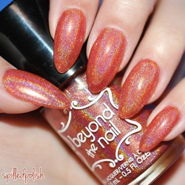 Beyond The Nail Holly Jolly Christmas Swatch by Maddy S
