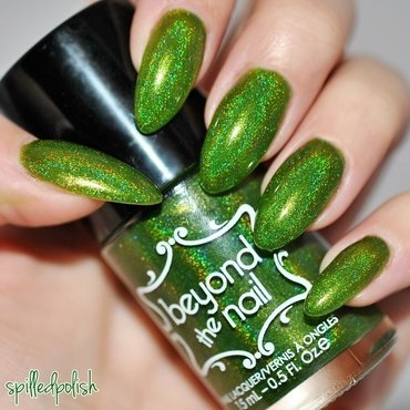 Beyond The Nail Rockin Around the Christmas Tree Swatch by Maddy S