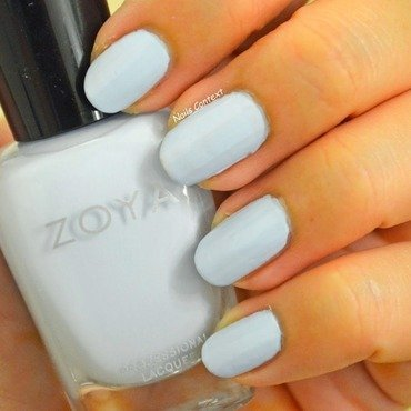 Zoya Blu Swatch by NailsContext