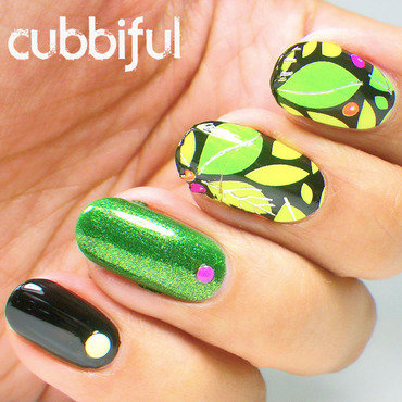Tropical skittlete nails thumb370f