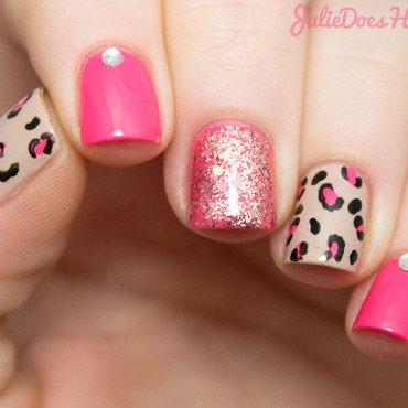 Pink glitter leopard print 03 thumb370f