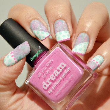 Pastel dream nail art by Sweapee