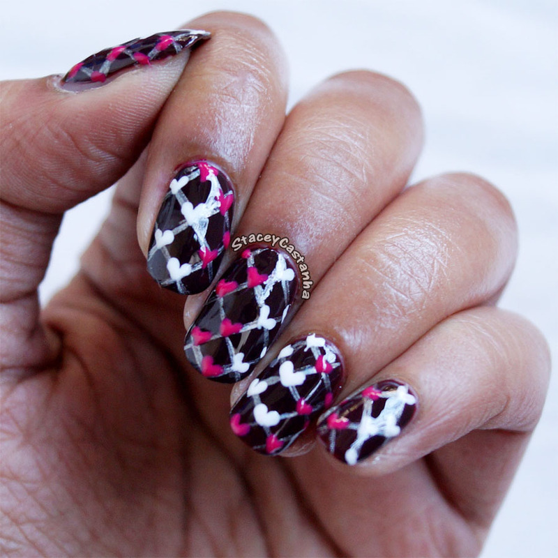 Sweater weather nail art by Stacey  Castanha
