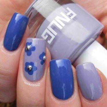 Purple Mix and Match nail art by Ann-Kristin