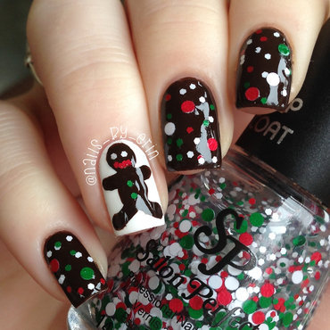 Salon Perfect Christmas Cookie Swatch by Erin