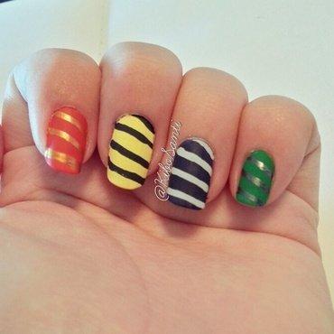 November challenge day 14 Inspired by a Book  nail art by KiboSanti