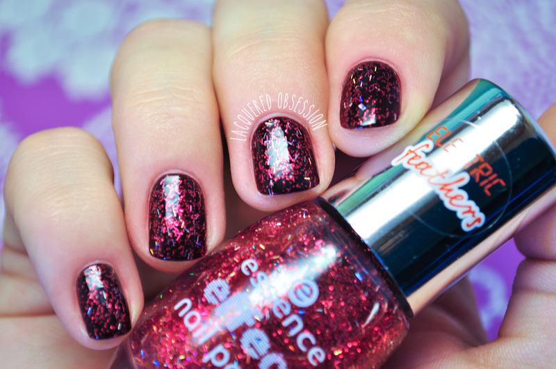 Essence effect nail polish That's My Pop Cake! Swatch by Lacquered Obsession