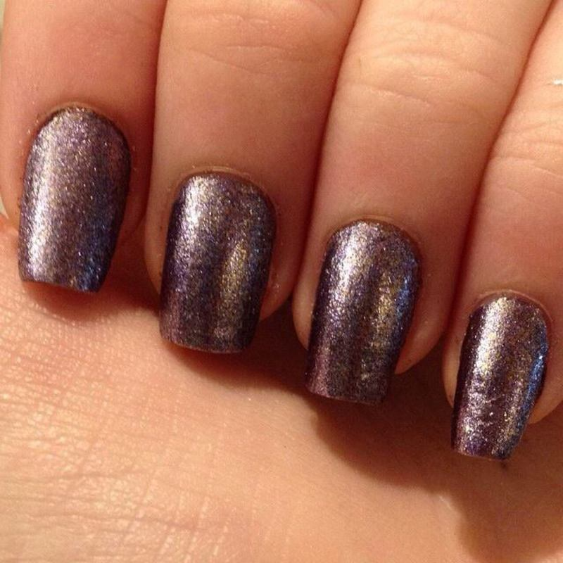 Hard Candy Crush On Amethyst Swatch by Elizabeth Hemingway