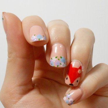 Foxy Nails nail art by Polishisthenewblack