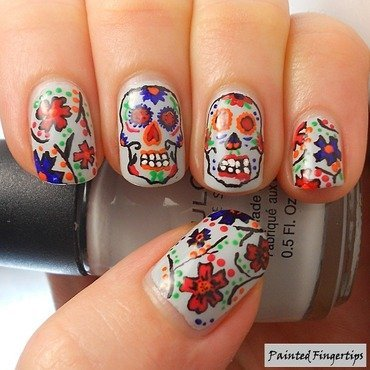Nails sugar skulls thumb370f