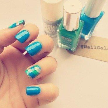 Fishtail Braid Nail art nail art by NailGals