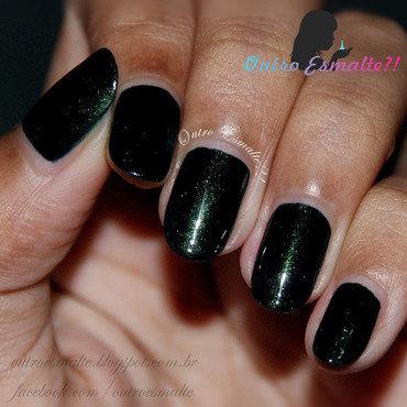 Picture Polish - Mallard nail art by Tatiane