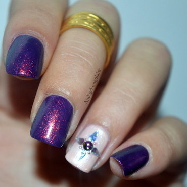 Pipi de Licorne § Accent Nail nail art by And'gel ongulaire