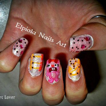 Pet Lover nail art by Elpiola Lluka