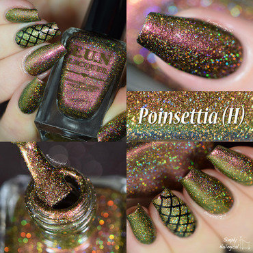 Fun Lacquer Poinsettia (H) Swatch by simplynailogical