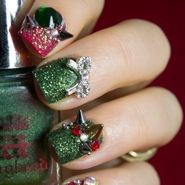 Christmas nail art 3 thumb370f