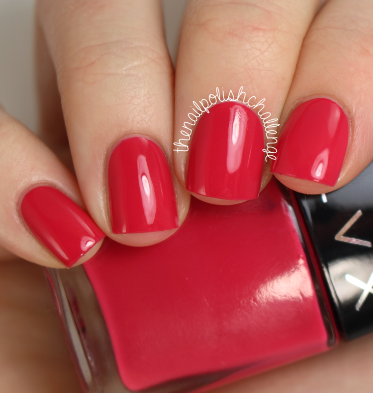 LVX Cerise (Fall 2014 Collection) Swatch by Kelli Dobrin