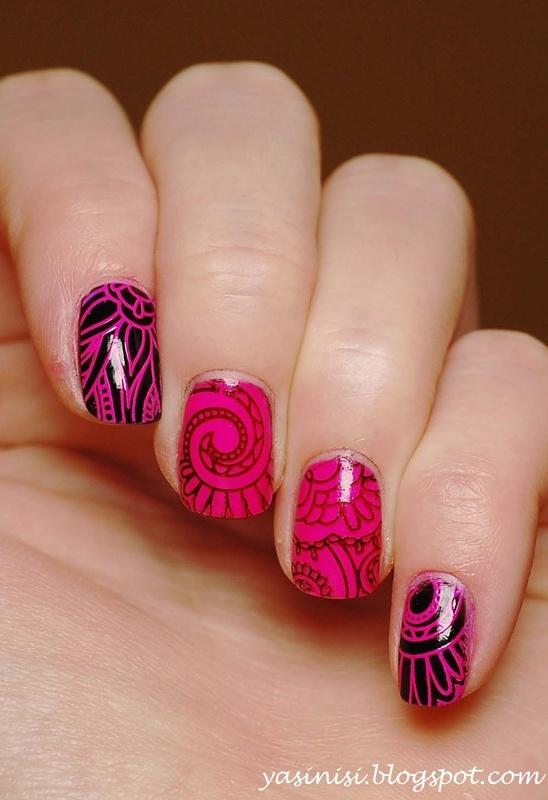 QA88 nail art by Yasinisi