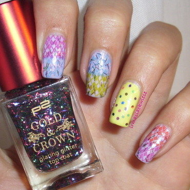 colourful... nail art by irma
