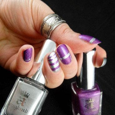 A England Nail Art nail art by Virginie