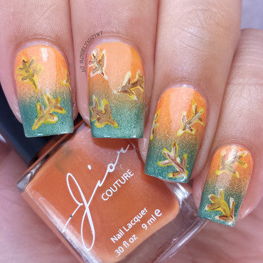 Fall leaves nails thumb370f