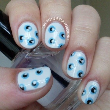1984 Book Inspired Nail Art nail art by Lisa N
