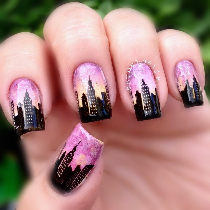 New York Nail Art Designs