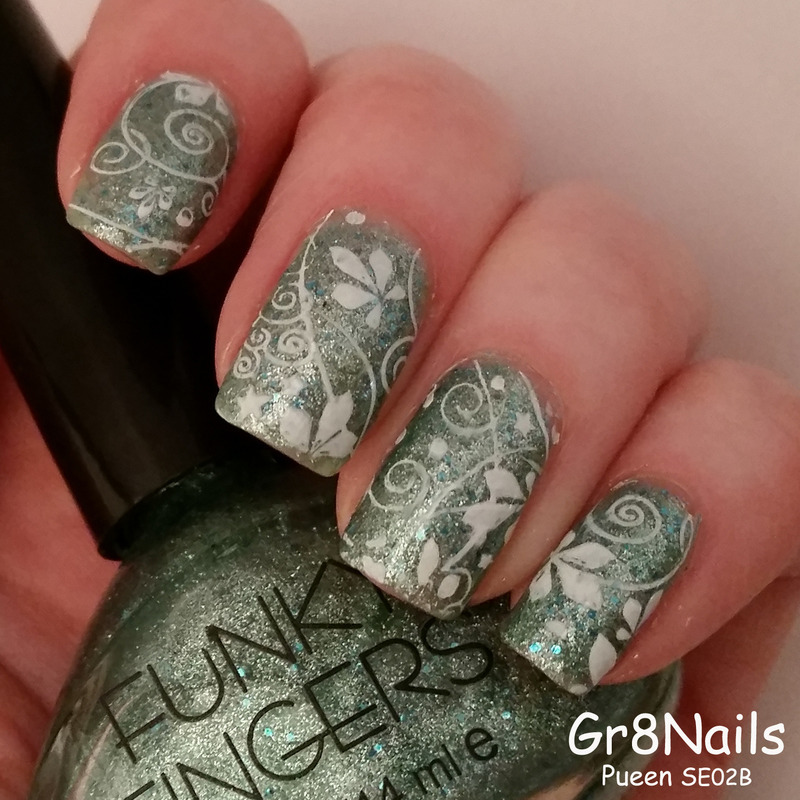 simple design nail art by Gr8Nails