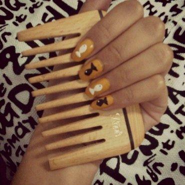 fishie nail art by Rebecca