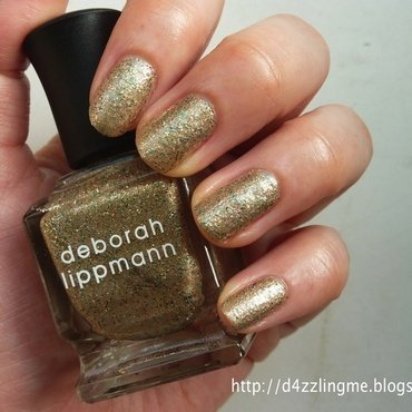 Deborah Lippmann Fake It Til You Make It Swatch by D4zzling Me