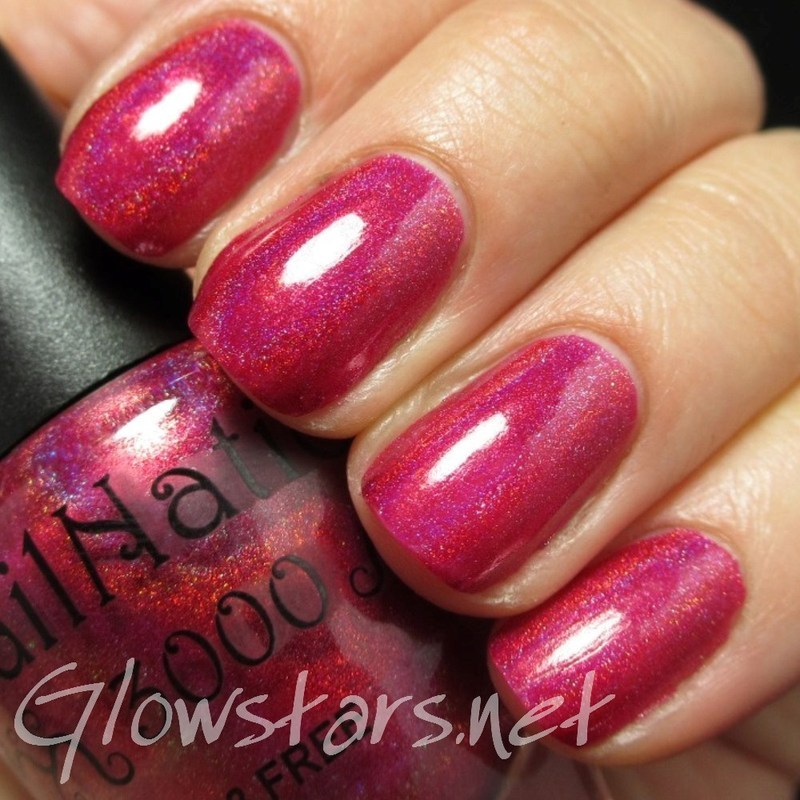 Nail Nation 3000 Matters of the Heart Swatch by Vic 'Glowstars' Pires