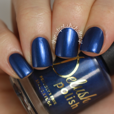 Delush Polish Eat Sleep Chic Swatch by Kelli Dobrin