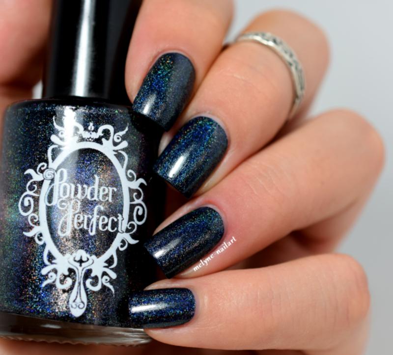Powder Perfect Despair Swatch by melyne nailart