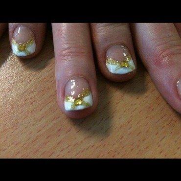 Cross ur heart nail art by Tiger Carla