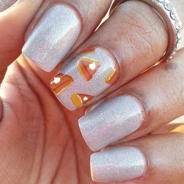 Holiday Pie nail art by Tonya