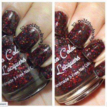 Cameo Colours Lacquers Love You to Death Swatch by Shanna Beam