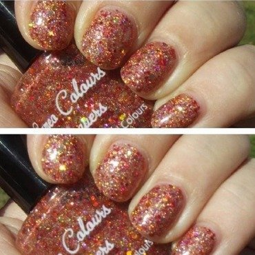 Cameo Colours Lacquers Indian Summer Swatch by Shanna Beam