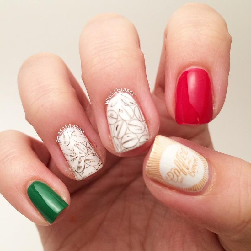 Viva Italia nail art by Nailblazer