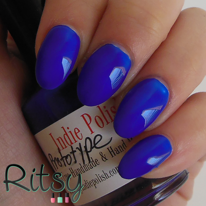 Indie Polish Prototype Navy Swatch by Ritsy NL