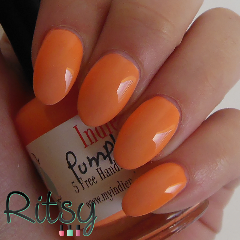 Indie Polish Pumpkin King Swatch by Ritsy NL