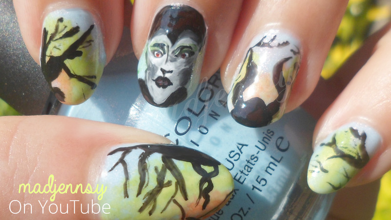 Maleficent Nail Art nail art by madjennsy Nail Art - Nailpolis ...