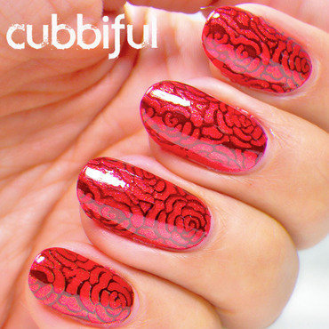 Elegant rose nails thumb370f