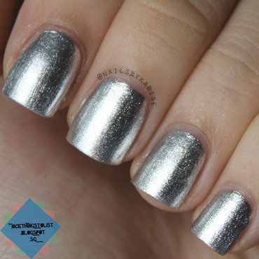 OPI Turn On the Haute Light Swatch by Karise Tan
