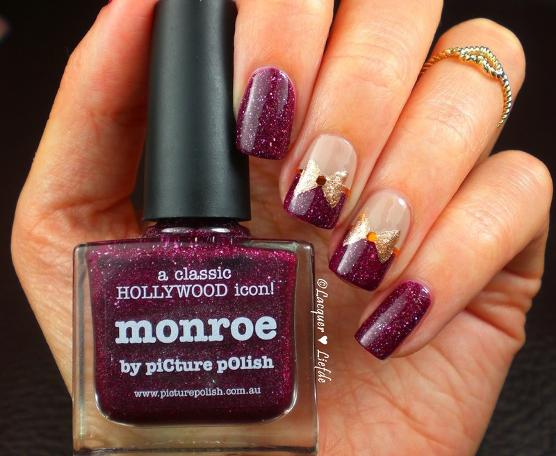 Picture Polish Monroe  nail art by Anna