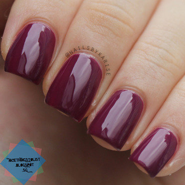 Opi get cherried away outdoors swatch thumb370f