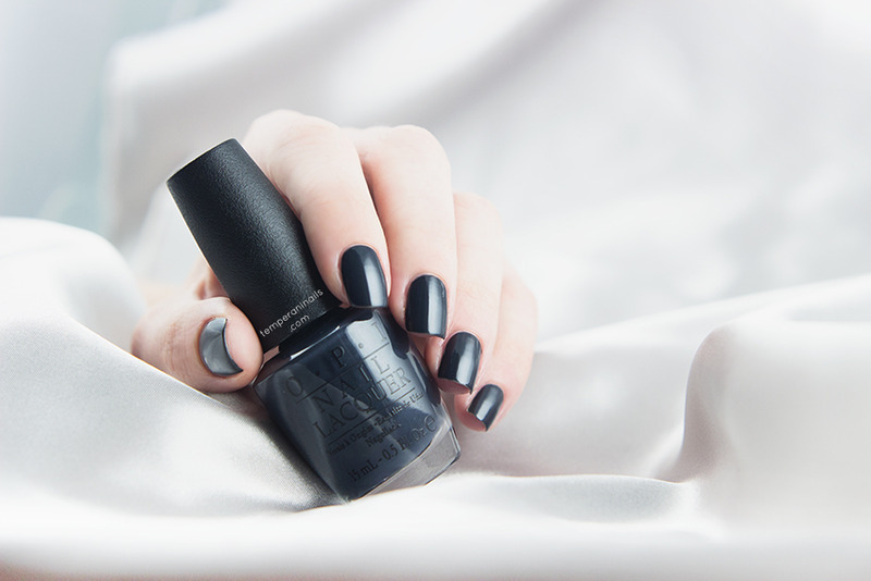 OPI Dark Side of the Mood Swatch by Temperani Nails