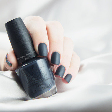 Opi fifty shades of grey dark side of the mood swatch matte thumb370f