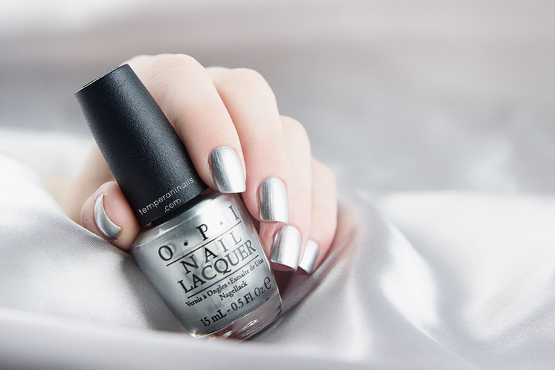 OPI My Silk Tie Swatch by Temperani Nails