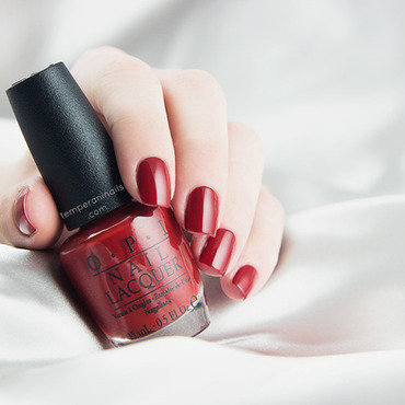 OPI Romantically Involved Swatch by Temperani Nails