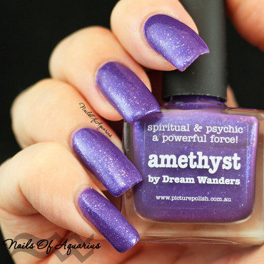 piCture pOlish amethyst Swatch by Karolyn